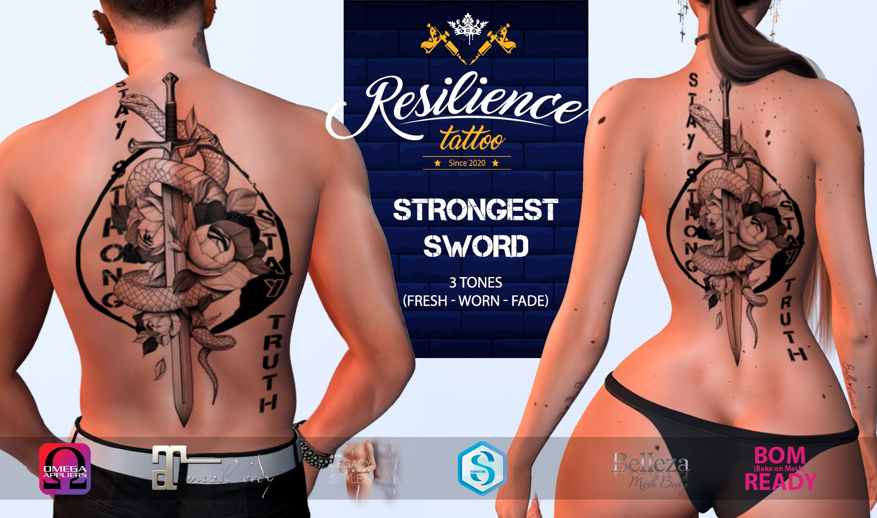 resilience tattoo