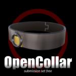 open collar